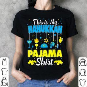 Awesome This is My Hanukkah Pajama Jewish Christmas Pajamas sweater