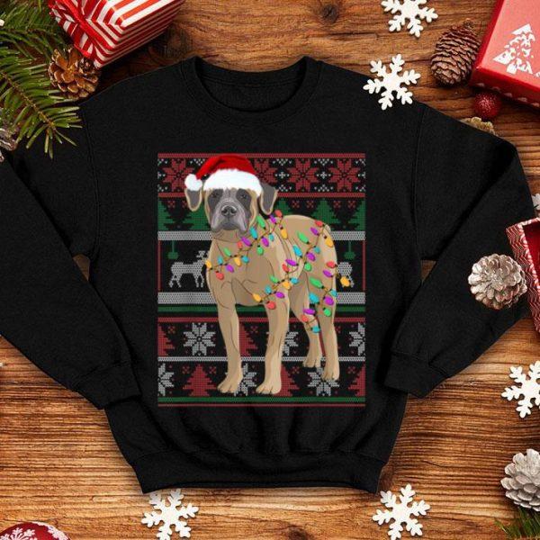 Beautiful Boerboel Ugly Sweater Christmas Gift shirt