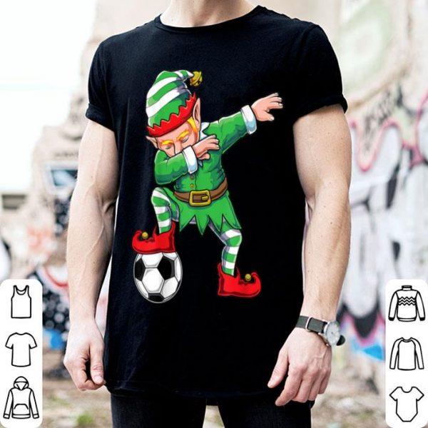 Beautiful Dabbing Santa Elf Dab Boys Soccer Football Christmas Gift sweater