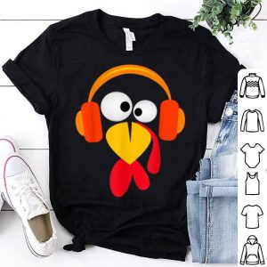 Beautiful Funny Thanksgiving Turkey Holiday Hipster Mens Boy Girl Gift shirt