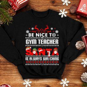 Beautiful Gym Teacher Ugly Christmas Sweater Gift Funny PE Teachers shirt