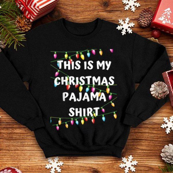 Beautiful This Is My Christmas Pajama - Lights Funny Holiday shirt