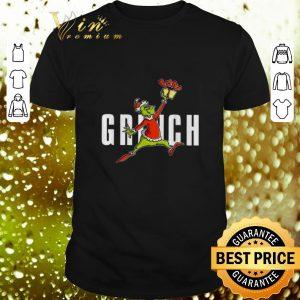Cheap Air Jordan Grinch Christmas shirt