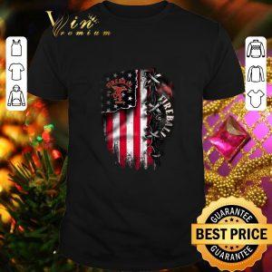 Cheap Fireball Cinnamon inside American flag shirt