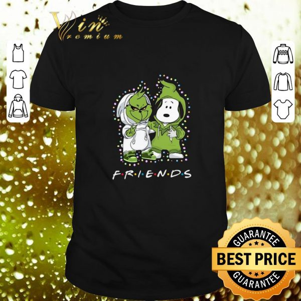 Cheap Friends Baby Grinch and Snoopy shirt