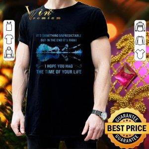 Cheap It's something unpredictable Good Riddance Time Of Your Life shirt 2