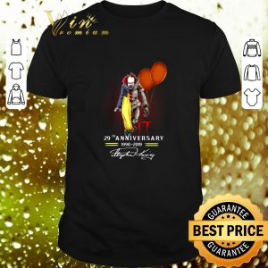 Cheap Pennywise IT 29th Anniversary 1990-2019 Signatures shirt