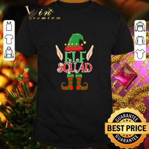 Funny Family Elf Squad Christmas shirt