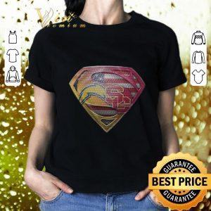 Funny Superman logo Los Angeles Chargers USC Trojans shirt