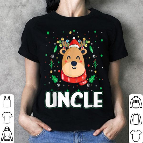 Hot Cute Uncle Reindeer Santa Ugly Christmas Family Matching sweater