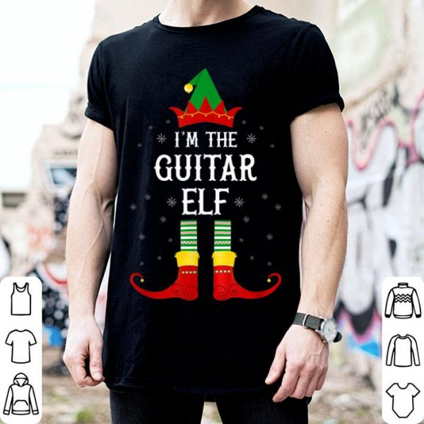 Hot I'm the Guitar Elf Family Matching Group Christmas sweater