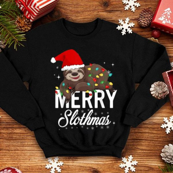 Hot Sloth Christmas, Merry Slothmas Christmas shirt