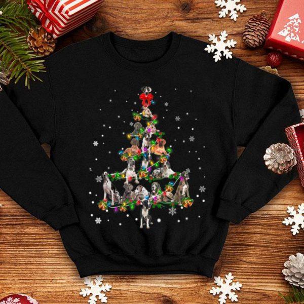 Nice Cute Great Dane dog Christmas Tree gift decor Xmas tree shirt
