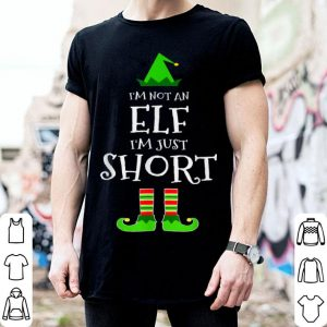 Nice I'm Not An Elf I'm Just Short - Funny Christmas Elf Gift sweater