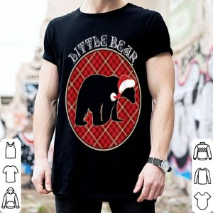 Nice Matching Family Little Polar Bear Buffalo Plaid Xmas Gift shirt