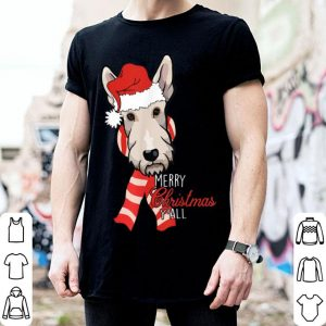 Official Scottie Dog Merry Christmas Y'all Xmas Gift sweater