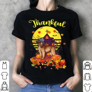 Original Afghan Hound Dog Pilgrim Thanksgiving Costume Thankful shirt