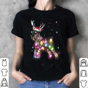 Original Christmas Lights Standard Schnauzer Dog shirt