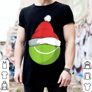 Original Funny Tennis Christmas Santa Claus Birthday Family Sports shirt