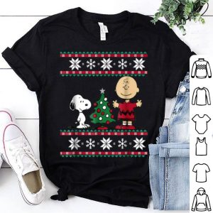 Original Peanuts Snoopy and Charlie Christmas shirt