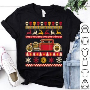 Original Rat Rod Ugly Christmas Sweater Party for car lovers shirt