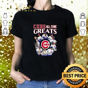 Premium Chicago Cubs all time Greats team players signatures shirt