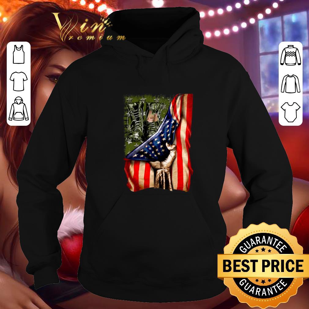 Premium Veteran your name American flag shirt 4 - Premium Veteran your name American flag shirt