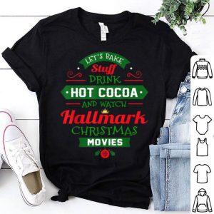 Pretty Christmas Movies Gifts Funny Xmas Watching Christmas Movie shirt