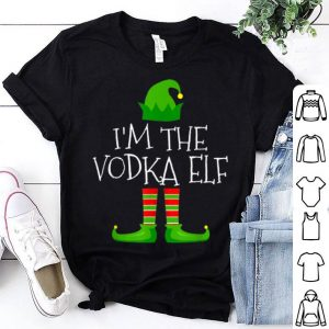 Pretty I'm The Vodka Elf Family Matching Christmas Pajama Gifts sweater