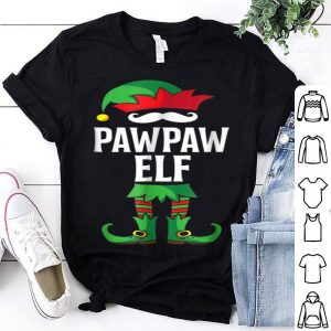 Pretty PawPaw Elf Costume Christmas Holiday Matching Family shirt