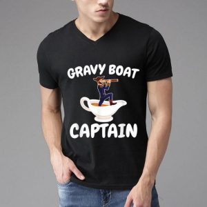 Pretty Thanksgiving Gravy Boat Captain Ship shirt