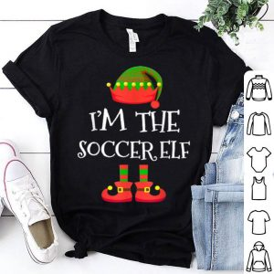 Top I'M THE Soccer ELF Christmas Xmas Funny Elf Group Costume shirt