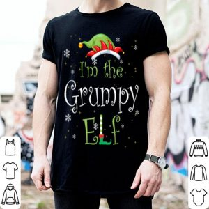 Top I'm The Grumpy Elf Family Matching Group Christmas Gift sweater