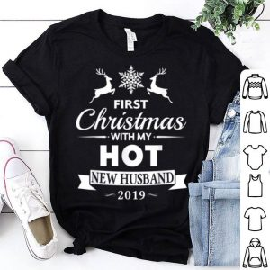 Awesome 2019 First Christmas With My Hot New Husband sweater