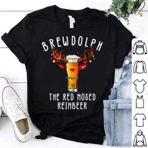 Awesome Brewdolph Reinbeer Christmas Gift Beer Lover's Funny sweater