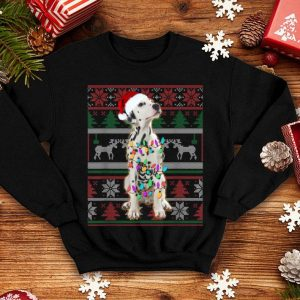 Awesome Dalmatian Ugly Sweater Christmas Gift sweater