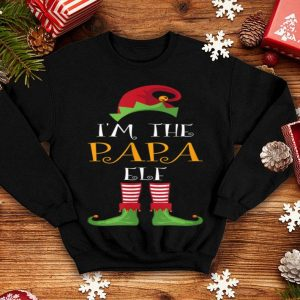 Awesome Family Matching Christmas Gifts I'm The Papa Elf sweater