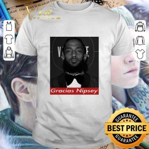 Awesome Rip King Nipsey Hussle Gracias Crenshaw TMC shirt