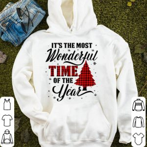 Awesome The Most Wonderful Buffalo Plaid Time Of The Year Christmas sweater