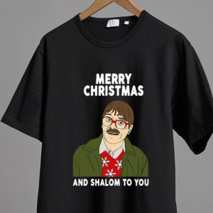 Beautiful Merry Christmas And Shalom To You shirt