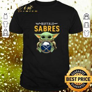 Cheap Baby Yoda Hug Buffalo Sabres Star Wars shirt