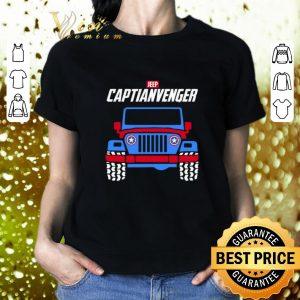 Cheap Captain America Marvel Avengers Endgame Jeep Captianvengers shirt