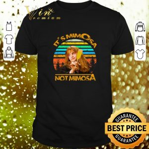 Cheap Harry Potter It's Mimosa Not Mimosa Vintage Hermione shirt