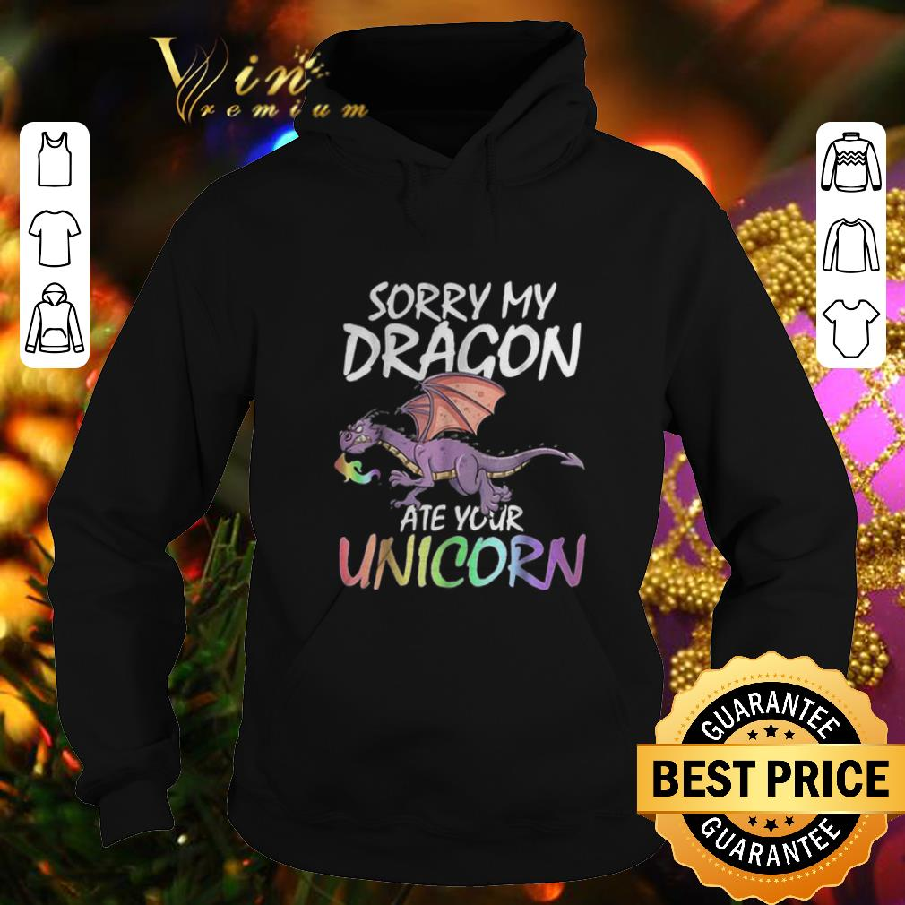 Cheap Sorry my dragon ate your unicorn LGBT shirt 4 - Cheap Sorry my dragon ate your unicorn LGBT shirt