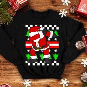Dab Santa Claus Ugly Sweater Funny Christmas Pun Humor sweater