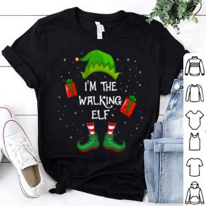 I'm The Walking Elf Funny Group Matching Family Xmas Gift sweater