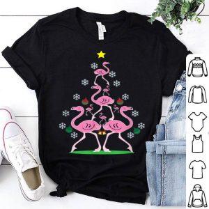 Nice Flamingo Christmas Tree Season Greetings X-Mas Gift sweater