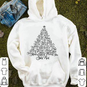 Nice Names Of Jesus Christmas Tree Gift Amazing Xmas Tree Gift sweater