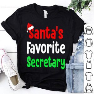 Nice Santa's Favorite Secretary Funny Ugly Christmas sweater
