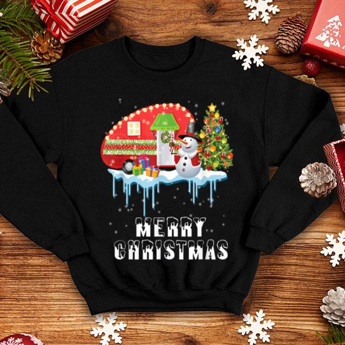 Official Happy Camper Christmas Funny Camping Christmas ...